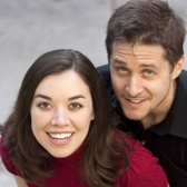 Husband/wife voice actors Tara Platt and Yuri Lowenthal (undated publicity photo courtesy bugbotpress.com)