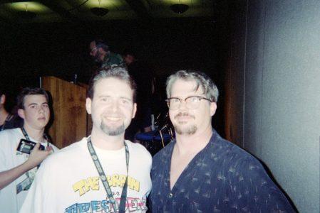 SDCC 2003: Craig Crumpton with C. Martin Croker